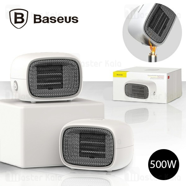 فن هیتر بیسوس Baseus Warm Little White Fan Heater ACNXB-A0Y طراحی رومیزی