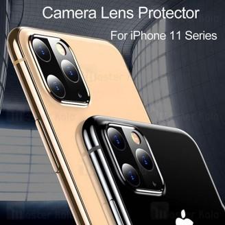 محافظ لنز فلزی دوربین موبایل آیفون Apple iPhone 11 Pro / 11 Pro Max Alloy Lens Cap