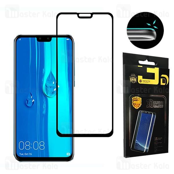 محافظ صفحه شیشه ای تمام صفحه و تمام چسب هواوی Huawei Y9 2019 / Honor 8X Mocol 6D