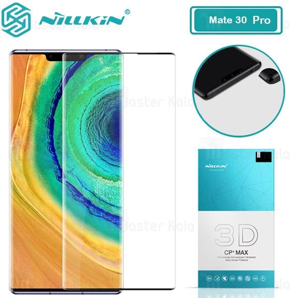 محافظ صفحه شیشه ای تمام صفحه نیلکین هواوی Huawei Mate 30 Pro 3D CP+ Max