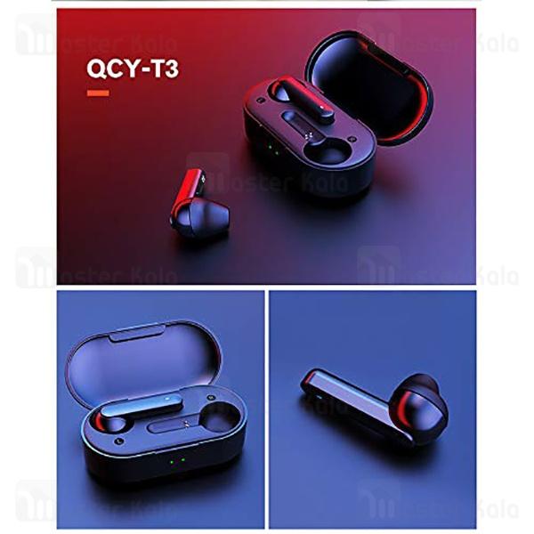هندزفری بلوتوث دو گوش کیو سی وای QCY T3 IPX5 Earbuds