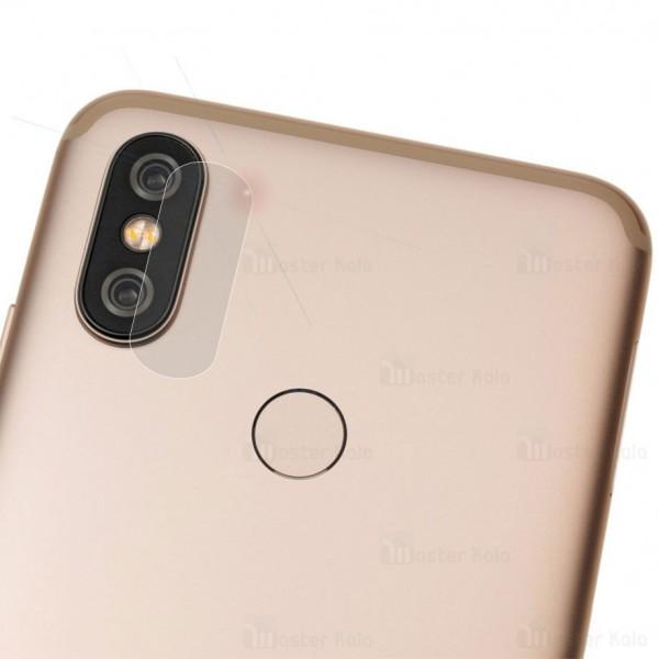 محافظ لنز دوربین شیشه ای موبایل شیائومی Xiaomi Mi A2 / Mi 6x
