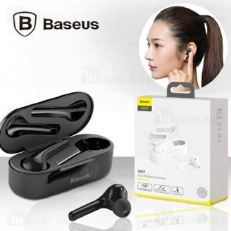 هندزفری بلوتوث دوتایی بیسوس Baseus W07 EncokTrue Wireless Earphones NGW07 دارای کیس شارژ