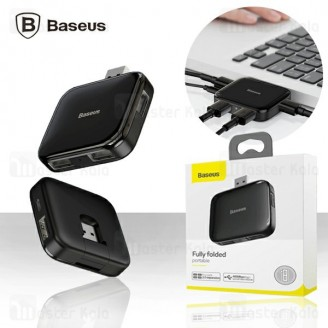 هاب 5 پورت بیسوس Baseus Fully folded portable 4-in-1 USB HUB CAHUB-CW01