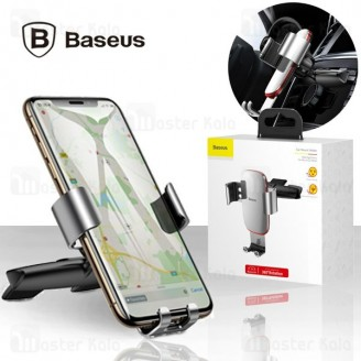 هولدر بیسوس Baseus Metal Age Gravity Car Mount SUYL-J01 قابلیت نصب بر روی درگاه CD