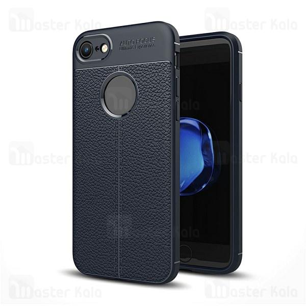 قاب محافظ ژله ای طرح چرم آیفون Apple iPhone 7 / 8 Auto Focus