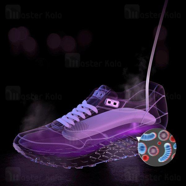 خشک کن کفش سه کاره Baseus Foot Quick Shoes Dryer for Disinfection UV Sterilizer ACJY-A02 / ACJY-02