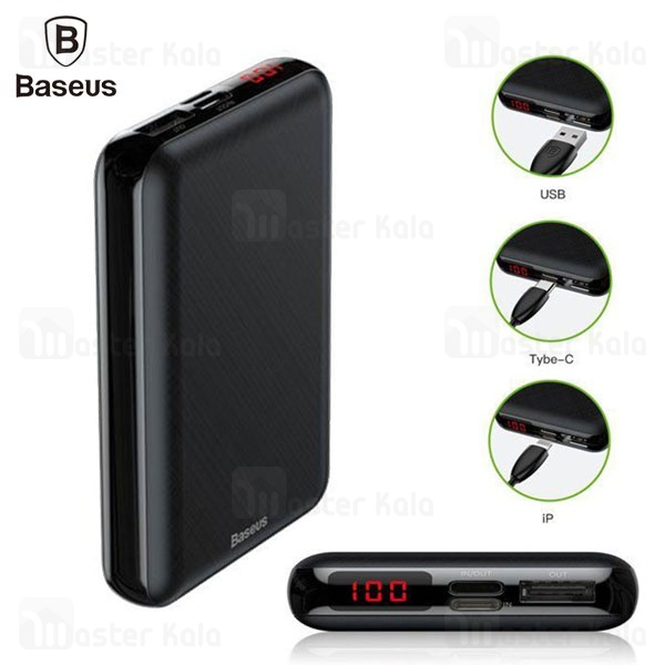 پاوربانک 10000 بیسوس Baseus Mini S PD Edition PPALL-XF01 3A