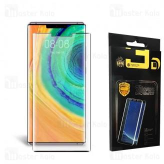 محافظ صفحه شیشه ای تمام صفحه تمام چسب خمیده هواوی Huawei Mate 30 Pro Mocol Glass