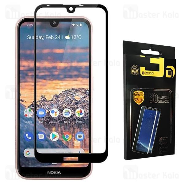 محافظ صفحه شیشه ای تمام صفحه تمام چسب نوکیا Nokia 3.2 2019 Mocol D+ Glass