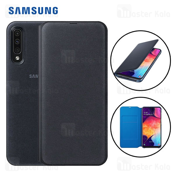 کیف هوشمند اصلی سامسونگ Samsung Galaxy A50 Wallet Cover