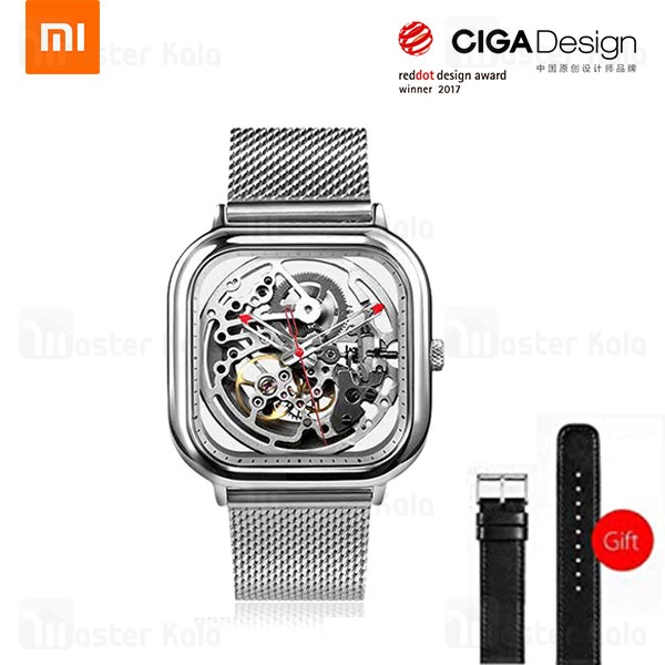 ساعت مکانیکی شیائومی Xiaomi CIGA Design Michael Young Automatic + بند چرمی