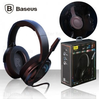 هدفون سیمی بیسوس Baseus D05 GAMO Immersive Virtual 3D Game headphone NGD05-01 گیمینگ