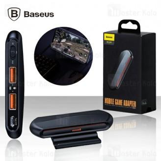 مبدل اتصال موس و کیبورد به موبایل Baseus GAMOMobile Game GMGA01-01 دارای استند