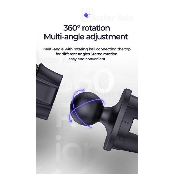 پایه نگهدارنده آهنربایی جویروم Joyroom JR-ZS202 Magic Air Outlet Holder دریچه کولری