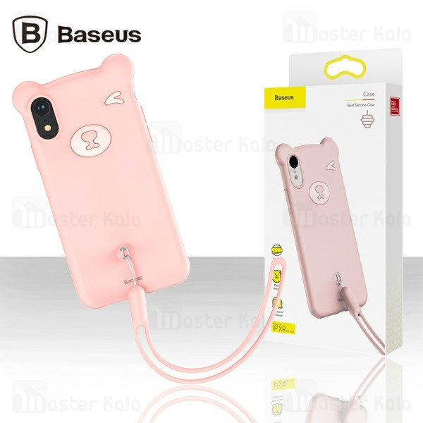 قاب فانتزی بیسوس آیفون Apple iPhone XR Baseus Bear Silicone WIAPIPH61-BE04