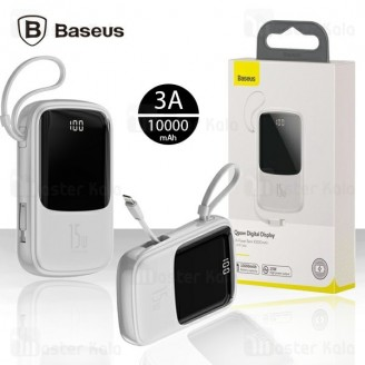 پاوربانک 10000 بیسوس Baseus Qpow Digital Display PPQD-B01 توان 3 آمپر
