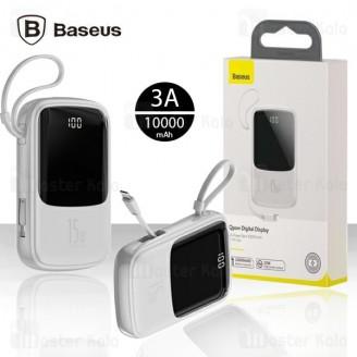 پاوربانک 10000 بیسوس Baseus Qpow Digital Display PPQD-B02 توان 3 آمپر