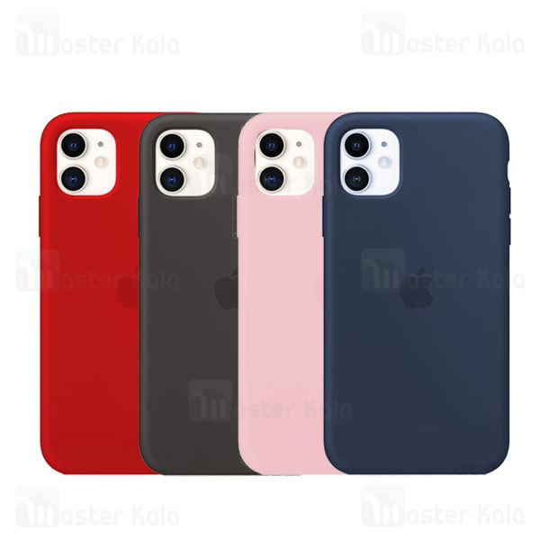 قاب سیلیکونی آیفون Apple iPhone 11 Silicone TPU Case Close Down