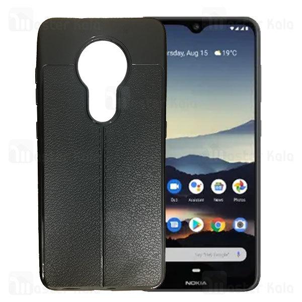 قاب محافظ ژله ای طرح چرم نوکیا Nokia 6.2 / 7.2 AutoFocus Jelly Case