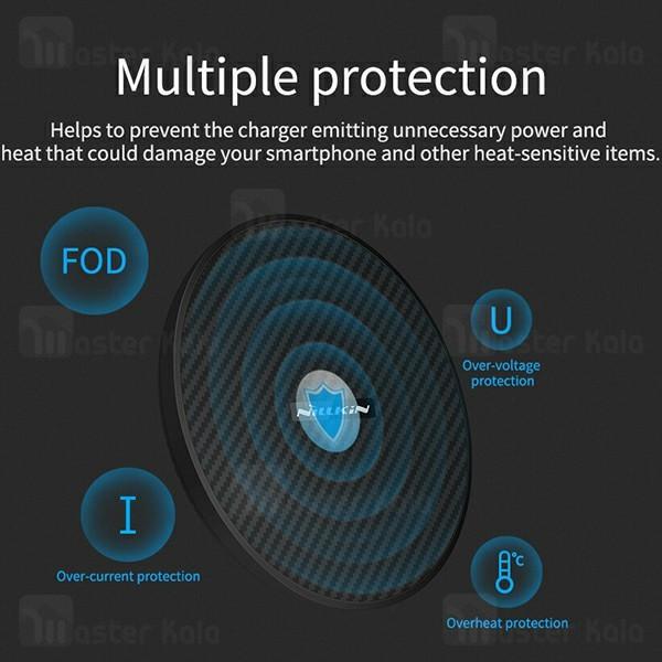 شارژر وایرلس نیلکین Nillkin PowerFlash MC035 Qi Wireless Charger توان 15 وات