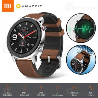ساعت هوشمند شیائومی Xiaomi AmazFit GTR Steel 47mm Smart Band
