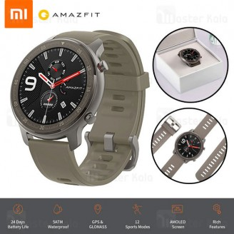 ساعت هوشمند شیائومی Xiaomi AmazFit GTR Titanium 47mm Smart Band