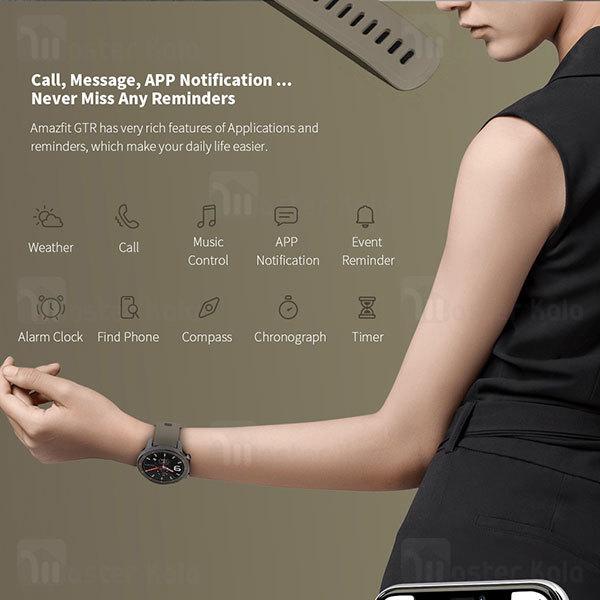ساعت هوشمند شیائومی Xiaomi AmazFit GTR Titanium 47mm Smart Band نسخه گلوبال