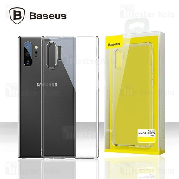 قاب ژله ای سامسونگ Samsung Galaxy Note 10 Plus Baseus Simple Clear Jelly ARSANOTE10P-02