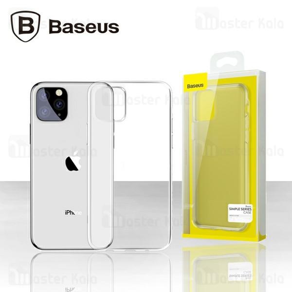 قاب ژله ای آیفون بیسوس Apple iPhone 11 Pro Baseus Simplicity ARAPIPH58S-02