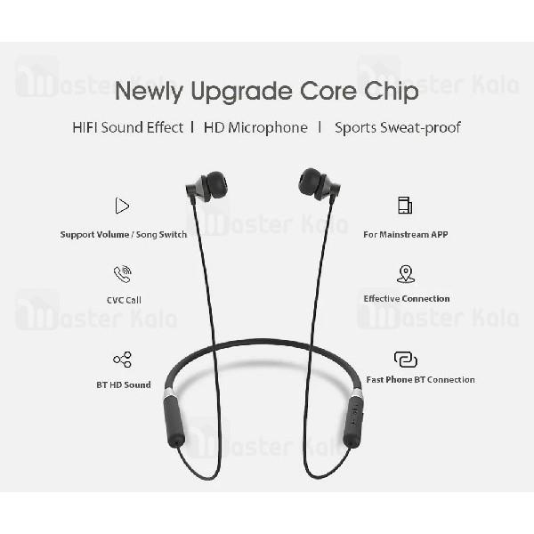 هندزفری بلوتوث لنوو Lenovo HE05 Hanging Wireless Bluetooth طراحی مگنتی