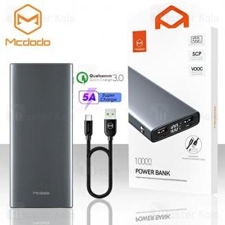 پاوربانک 10000 سوپر شارژ مک دودو Mcdodo MC-721 QC3.0 Power Bank دارای کابل 5 آمپر