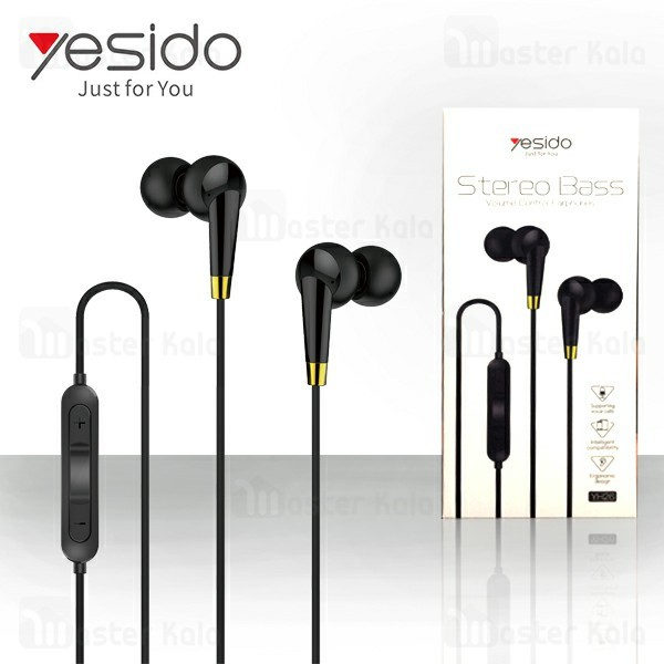 هندزفری سیمی یسیدو Yesido YH26 Stereo Bass Earphone