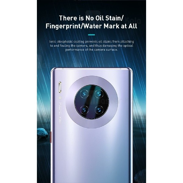 پک دوتایی محافظ لنز دوربین شیشه ای موبایل Huawei Mate 30 / 30 Pro Baseus SGHWMATE30-JT02