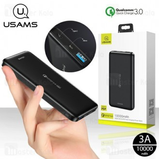 پاوربانک 10000 یوسمز Usams CD92 PD Fast Charge Power Bank فست شارژ QC3.0