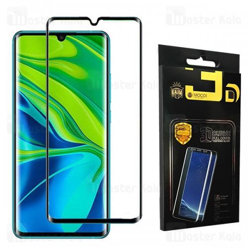 محافظ صفحه شیشه ای تمام صفحه تمام چسب خمیده شیائومی Xiaomi Mi Note 10 / Note 10 Pro / CC9 Pro Mocol