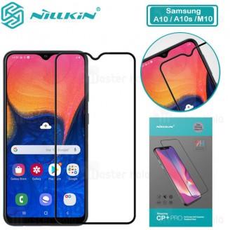محافظ صفحه شیشه ای تمام صفحه تمام چسب سامسونگ Samsung Galaxy A10 / A10s / M10 Nillkin CP+ Pro