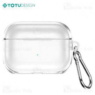 کاور محافظ ایرپاد پرو توتو TOTU TWS Pro Case AA-096 Apple Airpod Pro TPU Case