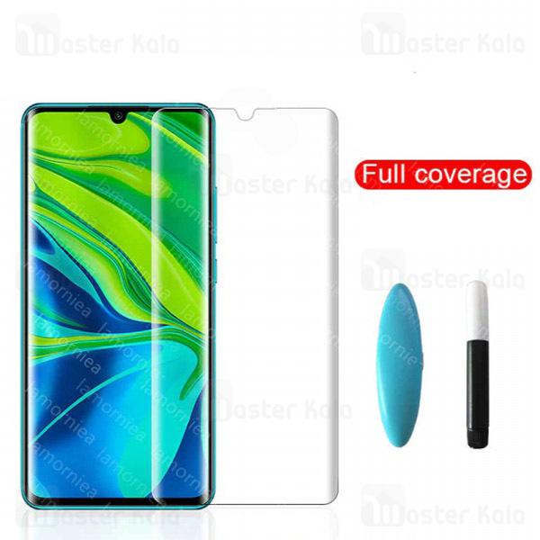 محافظ صفحه شیشه ای تمام صفحه و خمیده یو وی Xiaomi Mi CC9 Pro / Mi Note 10 / Pro UV Nano Glass