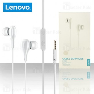 هندزفری سیمی لنوو Lenovo HF160 Cable Earphone با کانکتور AUX