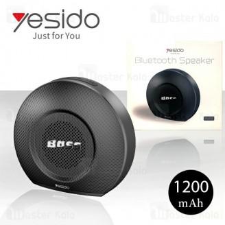 اسپیکر بلوتوث و پاوربانک Yesido YSW02 Bluetooth Speaker رم خور
