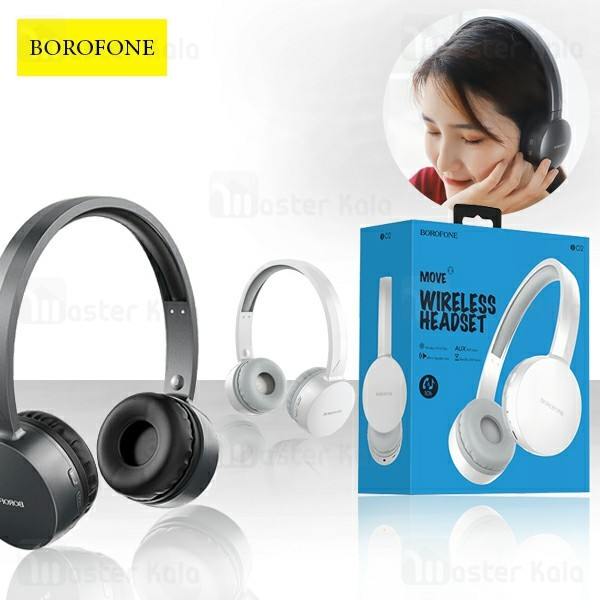 هدفون بلوتوث بروفون Borofone BO2 MOVE Wireless Headset
