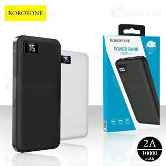 پاوربانک 10000 بروفون Borofone BT22 Dual USB Digital Display توان 2 آمپر