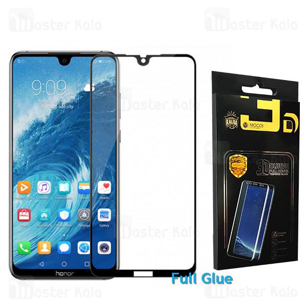 محافظ صفحه شیشه ای تمام صفحه تمام چسب هواوی Huawei Honor 8X Max Mocol Glass