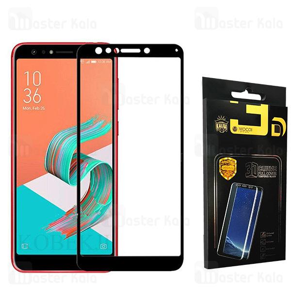 محافظ صفحه شیشه ای تمام صفحه دور چسب ایسوس Asus Zenfone 5 Lite ZC600KL Mocol