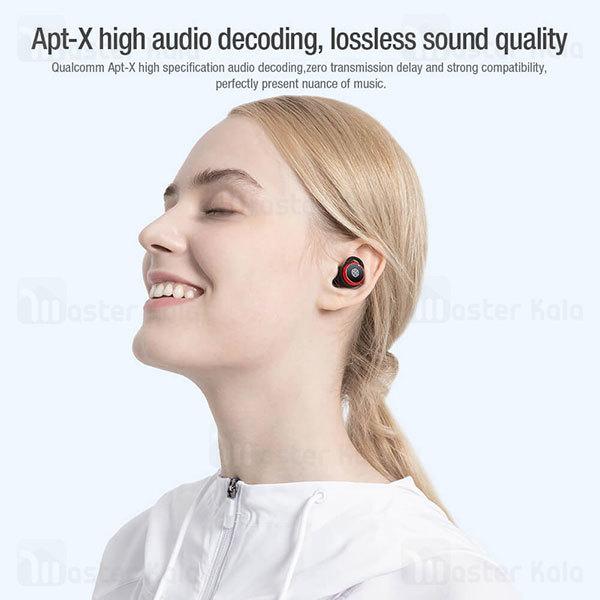 هندزفری بلوتوث دو گوش نیلکین Nillkin Go TW004 AptX Wireless earphones