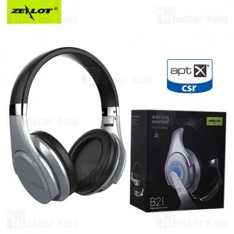 هدفون بلوتوث زیلوت Zealot B21 Super Bass Wireless Headphone