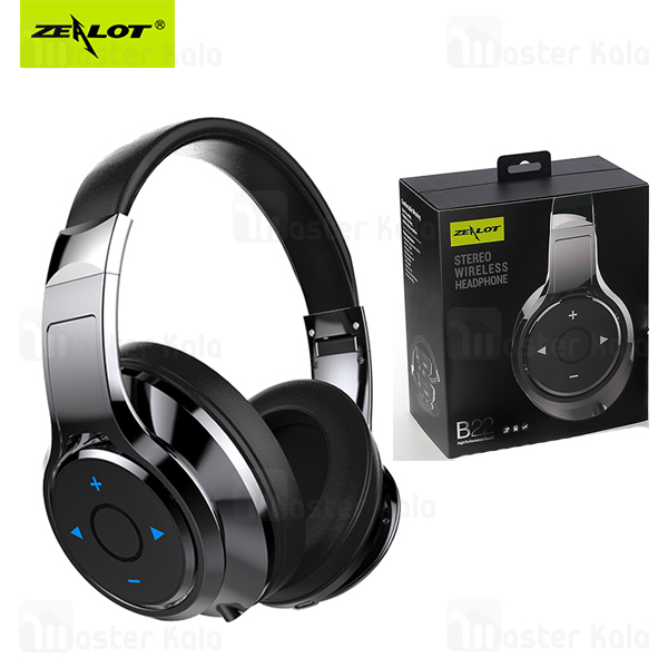 هدفون بلوتوث زیلوت Zealot B22 Super Bass Wireless Headphone