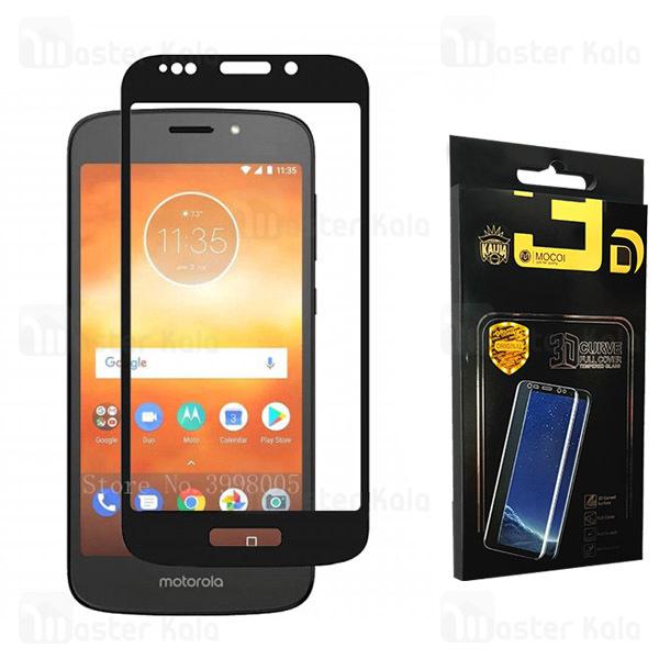 محافظ صفحه شیشه ای تمام صفحه تمام چسب موتورولا Motorola Moto E5 / G6 Play Mocol