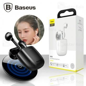 هندزفری بلوتوث دوتایی بیسوس Baseus W04 Pro TWS Earphone طرح ایرپاد